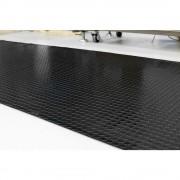 Bodenmatte aus Naturkautschuk pro lfd. m, Breite 1200 mm Mattenstärke 4,5 mm, schwarz