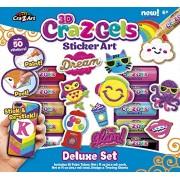 CRA Z Art CRA-Z-Gels Deluxe Set DIY Sticker Kit (17 Piece)