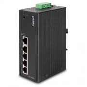 PLANET IP30 5-Port/TP Web/Smart POE Industrial Fast Ethernet Switch (-10 to 60 C)