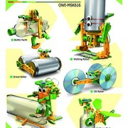 OWI MSK616 Super Solar Recycler Robotic Kit to Reuse Cans and Bottles Science & Nature