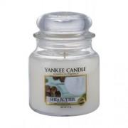Yankee Candle Shea Butter 411 g vonná sviečka unisex