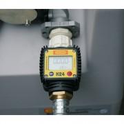 CEMO Durchflusszähler für DT-Mobil Easy 200 l für Elektropumpe 12 V und 24 V, 40 l/min