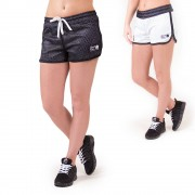 Gorilla Wear Madison Reversible Shorts - Black/White - S