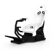 Scaun gaming RS1 White/Black