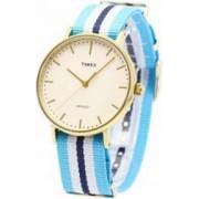 Ceas Unisex Timex Weekender TW2P91000 Blue-Gold