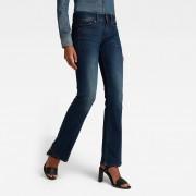 G-Star RAW Midge Saddle Bootleg Jeans