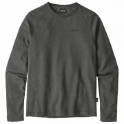 Patagonia - P-6 Logo Lightweight Crew Sweatshirt - Manches longues taille M, noir