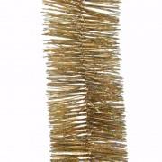 Merkloos Christmas Gold kerstboom decoratie slinger goud 270 cm