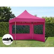 3x3m összecsukható pavilon Alutec Pink (Economy Alutec Pop-Up)
