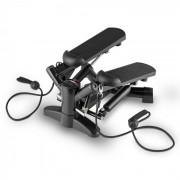 Powersteps Máquina de Step com Bandas Elásticas - preto