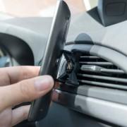 Shop4 - Universele Telefoonhouder Auto Magneet Ventilatierooster K3 Zwart