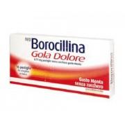 AlfaSigma Neoborocillina Gola Dolore Menta Senza Zucchero 16 Pastiglie