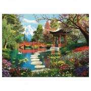 Puzzle 1000 Piezas Jardin Monte Fuji - Clementoni