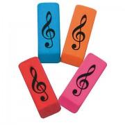 Elkin Music Wedge Eraser Treble Clef Geschenkartikel