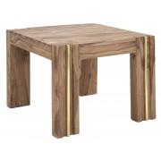 Masuta cafea ELEGANT, lemn masiv sheesham, 58X58X45 cm, Mauro Ferretti