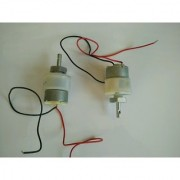 DC Motor with Gearbox 150 RPM 12V 300mA 2 kg.cm set of 2