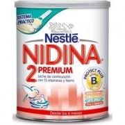 Nestle leche de continuación nidina 2 premium, 800 gr