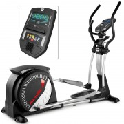 Bicicleta elíptica Super Khronos com ecrã TFT: Ideal para utentes altos que procuram uma zancada longa