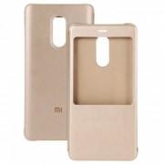 Xiaomi Flip PU Funda para Xiaomi Redmi Nota 4X (3GB + 32GB) - Oro