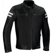 Segura Stripe Perfo Motorcycle Leather Jacket - Size: 3X-Large