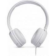 Casti audio On-ear JBL Tune 500, Pure Bass Sound, Hands-free Call Albe