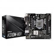 Motherboard ASROCK H310M-HDV LGA1151 2DDR4 ST6 D-SUB DVI-D HDMI