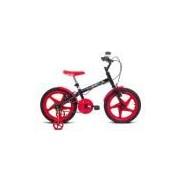 Bicicleta Verden Bikes Rock - Aro 16 - Freio V-Brake - Masculina - PRETO/VERMELHO Verden Bikes
