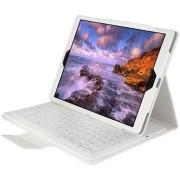 iPad Pro Bluetooth Toetsenbord & Folio Tas - Wit