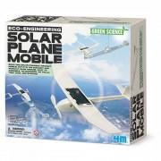 4M Spel Solar Plane Mobile voor kinderen - Wit