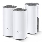 Безжична Mesh Wi-fi система TP-Link Deco E4 AC1200 (3-pack)