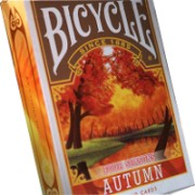 Carti de joc Bicycle Four Seasons (Autumn)