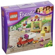LEGO Friends Stephanie's Pizzeria (87pcs) Toy for Kids Figures Building Block Toys
