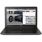 "Laptop HP Zbook 15 G4 (Procesor Intel® Core™ i7-7700HQ (6M Cache, up to 3.80 GHz), Kaby Lake, 15.6""FHD, 16GB, 256GB SSD, nVidia Quadro M1200 @4GB, FPR, Win10 Pro, Negru)"