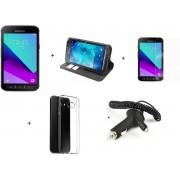 Samsung Galaxy Xcover 4 Zwart - Mr Mobile Bundel