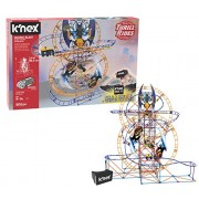 K'NEX Thrill Rides - Bionic Blast Roller Coaster Building Set with Ride It! App - 809Piece - Ages 9+ Building Set