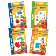 Playskool Flash Cards Value Pack - Alphabet, First Words, Shapes, Colors and Numbers