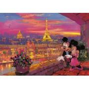 Пазл - «Микки и Минни в Париже» 1000 шт