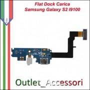 Flat Connettore USB Samsung Galaxy S2 Plus Ricarica Microfono I9105p