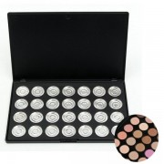 28 Pieces Refilled Empty Aluminum Eyeshadow Palette Eye shadow Box Case