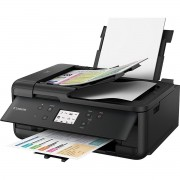 Multifunctional inkjet color Canon Pixma TR7550 Black, A4, Fax, Imprimare fara margini, USB Hi-Speed, Wi-Fi