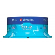 Difox Verbatim CD-R 80 / 700MB 52x Speed Extra Protection 25-pack