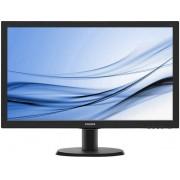 """Philips V-line 243V5LHSB - LED-monitor - 23.6"""" - 1920 x 1080 Full HD (1080p) - 250 cd/m² - 1000:1 - 5 ms"""