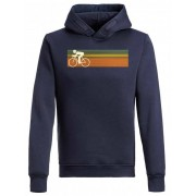 GreenBomb Bike Speed - Star - Hooded Sweater Men