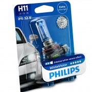 1 ampoule H11 Philips White Vision 12362WHVB1 3700K