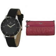 Evelyn Wrist Watch With hand Purse-LBBR-272-017