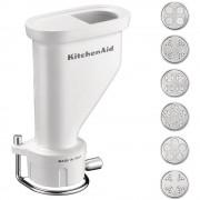 KitchenAid Accessorio per Robot Pressa per Pasta Corta da Gourmet
