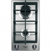 Ariston Hotpoint/ariston Dk 20s Gh/ha Piano Cottura A Gas 30 Cm 2 Fuochi Colore Inox