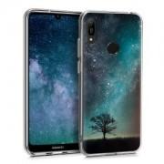 kwmobile Pouzdro pro Huawei Y6 (2019) - modrá