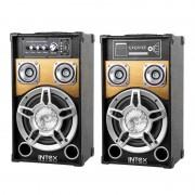 DJ SPEAKER SET DJ801 INTEX KOM0945