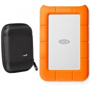 LaCie Rugged Thunderbolt And USB 3.0 1TB 9000488 With Ivatio